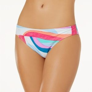 NWT Hula Honey Macys Flying Color Bikini Bottom XL